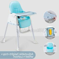 3in1 Baby High Chairs Adjustable Feeding Dining Booster Tabl