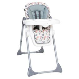 Baby High Chair 3-In-1 Elevated Seat Foldable Adjustable Hei