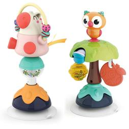 Zooawa Baby High Chair Animal Rattle Toy w/ Suction Base Int