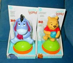 Lot of 2 Disney Baby Winnie The Pooh High Chair Toys Ages 6