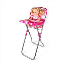 Plastic Folding High Chair for Dolls | Baby Doll Highchairs